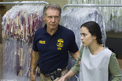 ICE prince: Harrison Ford has a hand in saving Alice Braga&#039;s illegal immigrant in Crossing Over.