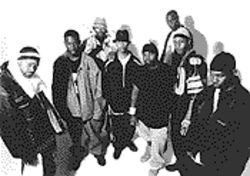 Wu-Tang Clan: A self-proclaimed hip-hop all-star team.