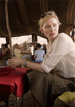 Political science: Cate Blanchett is one of many pieces of a dramatic puzzle in Babel.