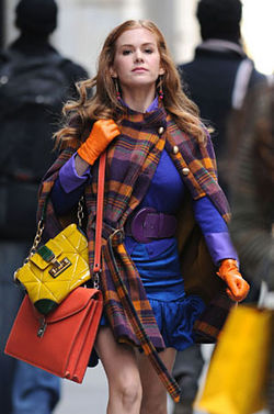 Cultural relic: Isla Fisher in the already-outdated Confessions of a Shopaholic.