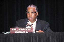 Where's Councilman Johnson been on profiling and police abuse toward Hispanics? In the nativist camp, according to his own writings.