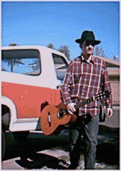 Cowboy poet JL Reed rides into The Trunk Space on June 11.