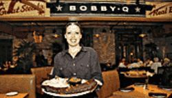 In a pig's eye: Bobby-Q boasts atmosphere by the bucketload, but the swine is only so-so.