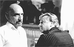Ghandi gone bad: Ben Kingsley (left) gives a chilling performance as Don Logan, a psychotic who lures Gary Dove (Ray Winstone) back into crime.