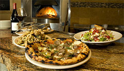Fired up: Some good wine, tasty starters, and memorable pizzas make Humble Pie worth a visit.