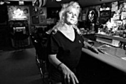 Darlene Coon of The Other Room, a little bar in Glendale where Carl was beloved.