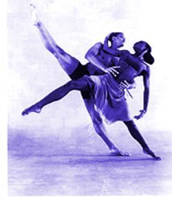 Clifton Brown and Briana Reed of the Alvin Ailey American Dance Theater.