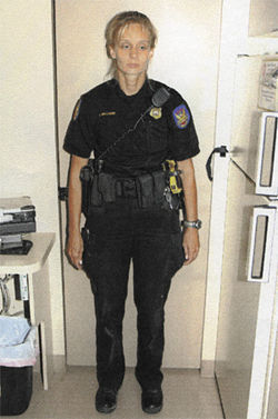 Phoenix officer Carla Williams had a short but unpleasant history with Keith Graff.