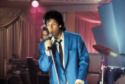 In hits such as The Wedding Singer, Adam Sandler has proven that a male perspective draws men to romantic comedies.