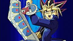 Battle cry: Yugi gets ready to kick some butt in Yu-Gi-Oh! The Movie.