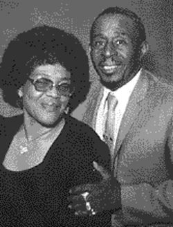 Rob Evans' beloved parents, Gladys and Oscar Evans, circa 1973.