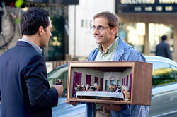 Paul Rudd, Steve Carell, and something that's as little and sad as Dinner for Schmucks, but cuter.