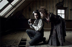 Just bloodlust: Johnny Depp and Helena Bonham Carter, pallid lovers in Sweeney Todd: The Demon Barber of Fleet Street.