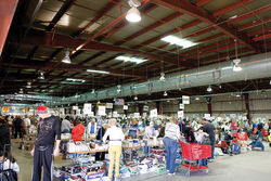 The 57th VNSA Used Book Sale drew thousands to the State Fairgrounds.