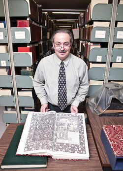 ASU archivist and head of the Department of Archives and Special Collections Robert Spindler