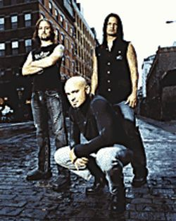 Booze clues: Disturbed headlines the Jägermeister Tour.