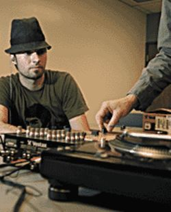Turntablism 101: DJ Radar takes on a new role.