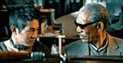 Dog show: Jet Li and Morgan Freeman lack believability in Unleashed.