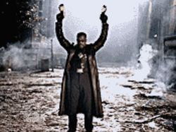 Back for more: Wesley Snipes returns as the half-human/half-vampire in Blade: Trinity.
