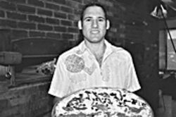 Pie-eyed guy: Joe Ciolli, owner of Patsy Grimaldi's, serves up the Valley's best pizza.