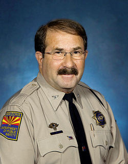 Robert Halliday, director of the Arizona Department of Public Safety.