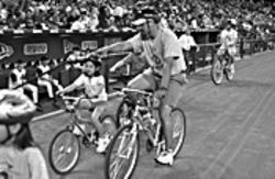 Get rollin': Celebrate Bike Week and enjoy a Diamondback's game.