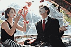 The perfect fit: The Dresden Dolls combine sexy rock with goth theatricality.