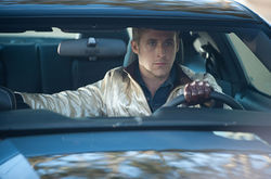 I love the '80s: Ryan Gosling is a chivalrous loner in Drive.