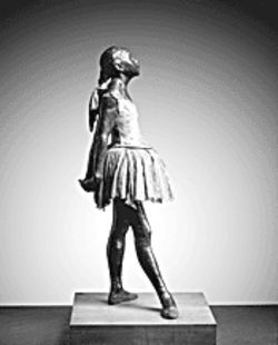 Faux fabulous: Degas never saw or approved this bronze of Little Dancer, Aged Fourteen.