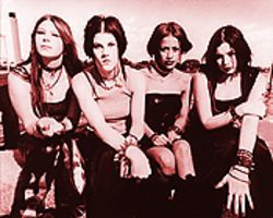 Canada's Kittie: Great, now we've got an all-girl band with too much testosterone.