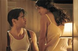 Novel approach: Colin Farrell and Salma Hayek star in Ask the Dust.