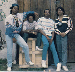 N.W.A: Ice Cube, Eazy E, Dr. Dre, and Arabian Prince