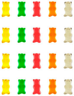 Michael Namingha. Gummy Bear Wall Paper.