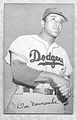 Don Newcombe: That's some old gum.