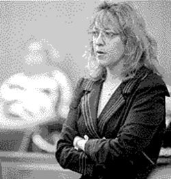"Prosecutor Laura Reckart helped build the case against Sammy ""the Bull"" Gravano."