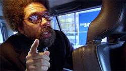 That&#039;s life: Cornel West opines on the courage to think in the documentary Examined Life.