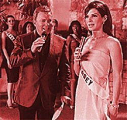 And my wish is for world peace: Sandra Bullock and William Shatner.