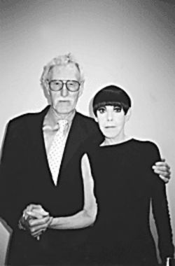 William Claxton and Peggy Moffitt made news in  Women's Wear Daily with their appearance at  PAM.