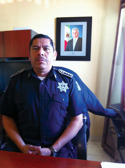 Lazaro Hernandez replaced the former Rocky Point police chief, who was wounded in a shooting last June.