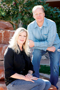 Gary and Debbie Frye of Tonopah hope to be among the lucky few who get a license.
