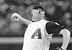 Former Diamondbacks and now Red Sox pitching great 