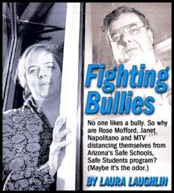 Mary and Rod Beaumont are the founders of the anti-bully hotline in Prescott.