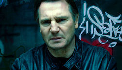 The aging brute: Liam Neeson gets tough (again) in the amnesia thriller Unknown.