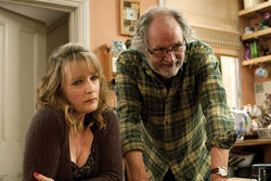 The perfect couple: Ruth Sheen and Jim Broadbent star in Mike Leigh's Another Year.