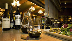 Wine all you want: Fine's Cellar specializes in wine-friendly food.