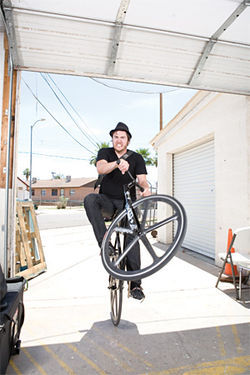 Terrence Murtagh is considered one of the best fixie tricksters in the local scene.
