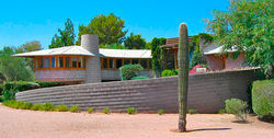 Arcadia's David and Gladys Wright House is the latest Frank Lloyd Wright home on the endangered list here.