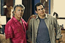 What the fock?: Dustin Hoffman and Ben Stiller star in Meet the Fockers.