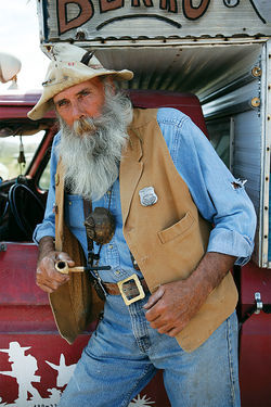 Teton Ken plays the Lost Dutchman at events in Apache Junction, though he's not sold on there ever being a gold mine.