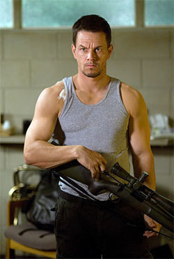 Mark Wahlberg and his guns see plenty of action in Shooter.